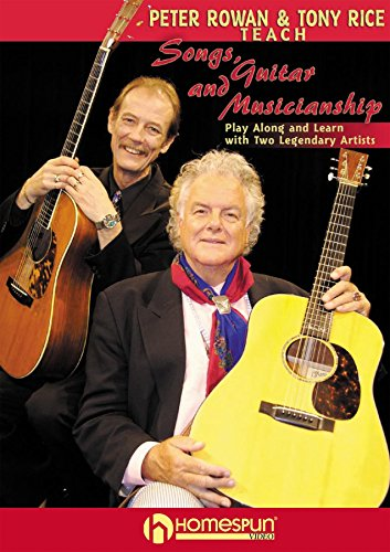 Peter Rowan and Tony Rice Teach Songs, Guitar and Musicianship [Instant Access] (Rowan And Rice compare prices)