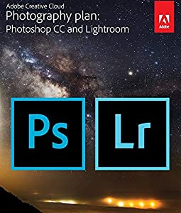 Adobe Creative Cloud Photography plan (Photoshop CC + Lightroom)