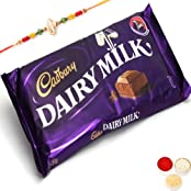 Rakhi Gifts Chocolates-Cadbury Dairy Milk Giant Bar-r1