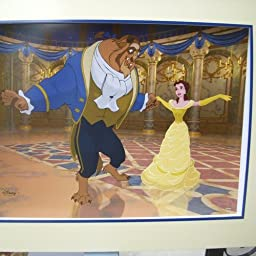 Beauty and the Beast Exclusive Commemorative Lithograph 9x13-