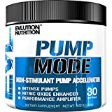 Evlution Nutrition Pump Mode Nitric Oxide Booster to Support Intense Pumps, Performance and Vascularity, 30 Serving, Unflavored (Color: 30 Serving)