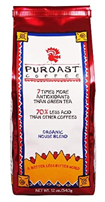 Puroast Coffee Organic House Blend Coffee