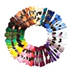 100 x 9m Assorted Cotton Embroidery T...