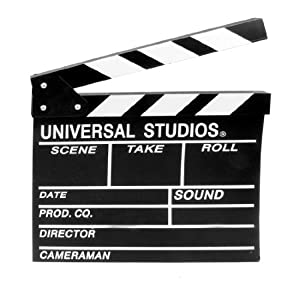 amazoncom director film action clapper board scene