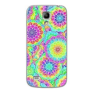 EYP Psychdelic Floral Pattern Back Cover Case for Samsung S4