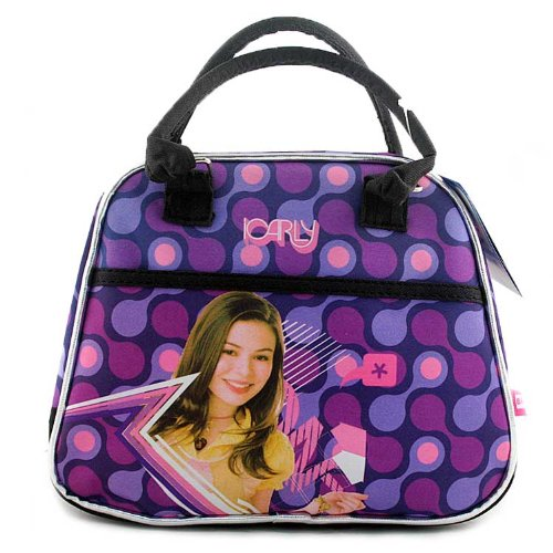 iCarly Insulated Lunch Bag Purse Handbag Style