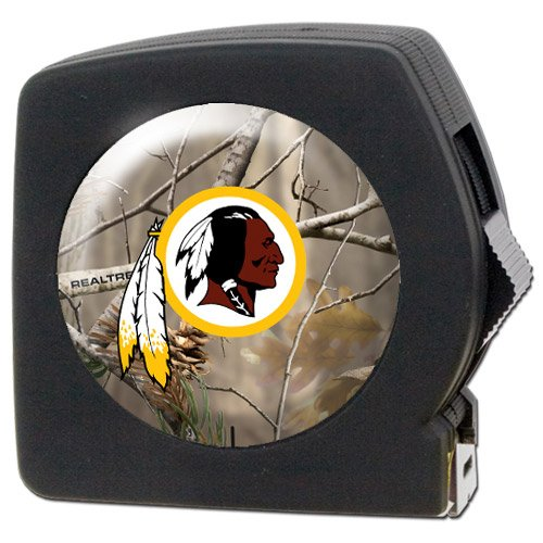 Nfl Washington Redskins Open Field 25' Tape Measure front-36746