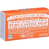 Dr. Bronner's Organic Pure Castile Bar Soap - Tea Tree - 5 oz