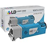 LD © Compatible Toner to Replace Dell THKJ8 / LD-3310716 High Yield Cyan Toner Cartridge for your Dell 2150 & 2155 Color Laser Printers - Cyan