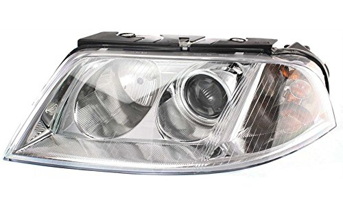 Evan-Fischer EVA13572012266 New Direct Fit Headlight Head Lamp for PASSAT 01-05 RH Assembly Halogen New Body Style With Bulb(s) Passenger Side Replaces Partslink# VW2502118 (01 Vw Passat Headlight Assembly compare prices)