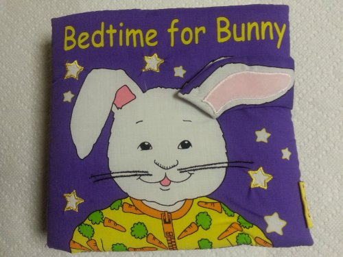 Softplay Bedtime for Bunny Interactive Soft Cloth Book