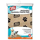 Simple Solutions Washable Training and Travel Pad, 2-Pack, Large