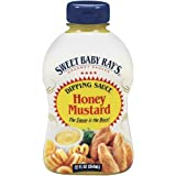 Sweet Baby Rays, Honey Mustard Dipping Sauce, 12oz Bottle (Pack of 3)