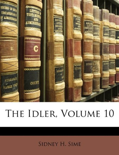 The Idler, Volume 10