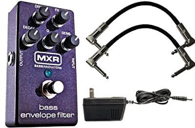 MXR M82 Bass Envelope Filter w/ 9V Power Supply and Patch Cables by MXR