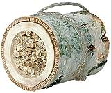 """Luxus-Insektenhotels 22615e Insekten-Nisthilfe """"Wildbienen-Zylinder"""" aus Birkenholz und Schilfrohr"""