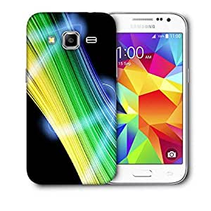 Snoogg Abstract Multicolor Design Printed Protective Phone Back Case Cover For Samsung Galaxy CORE PRIME