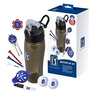 PGA Tour Match Play Drinks Bottle Set - Blue from PGA Tour