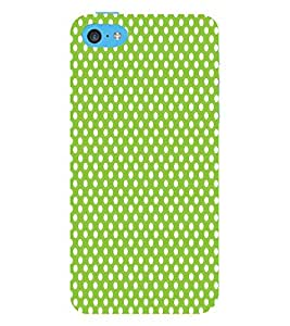 Light Green Zero 3D Hard Polycarbonate Designer Back Case Cover for Apple iPod Touch 6 (6th Generation)
