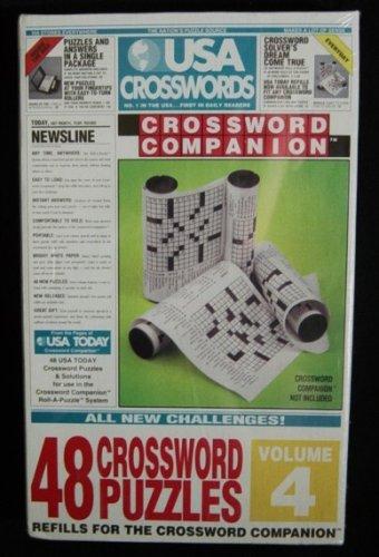 USA Crosswords Volume 4 Refill For The Crossword Companion