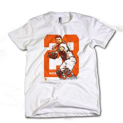 Buster Posey MLBPA San Francisco Toddler Shirt Buster Posey Sketch O