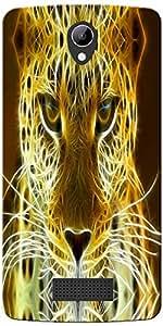 DigiPrints Designer Back Cover for Lyf Wind 3-Multicolor