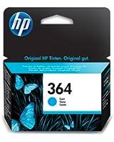 HP CB318EE#301 Cartouche d'encre d'origine Cyan