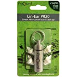 Proguard Lin-Ear PR20 music earplugs - hearing protection for DJ's and musicians