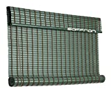 Art Wood Roll Up Blinds- Dark Green(4ft Width X 4.5 ft Height)