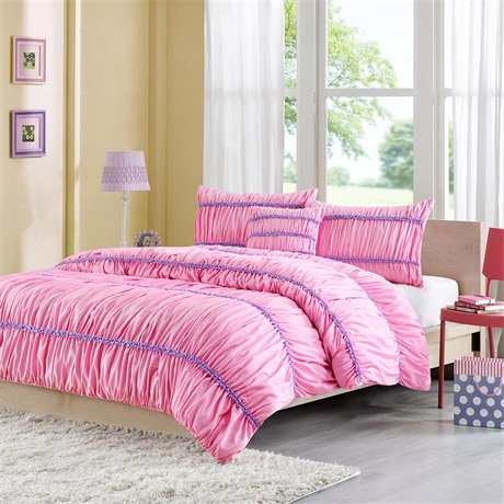 Mizone Viviana Comforter Set - Pink - Twin/Txl front-457501