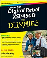 Canon EOS Digital Rebel XSi/450D For Dummies Front Cover