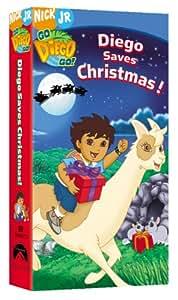 Amazon Com Go Diego Go Diego Saves Christmas Vhs E