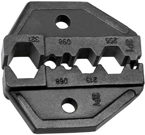 Klien Tools VDV211-041 Die Set for VDV200-010 Hex Crimp RG6/58/59/62 Coaxial Cable Replacement Ratcheting Crimping Frame