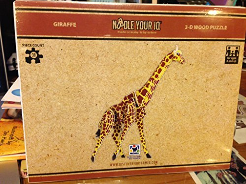 Giraffe 3D Puzzle Colored by Discovery Bay Games