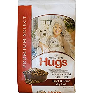 Paula Deen by Hugs Premium Select Dog Food, Beef and Rice, 12 lb