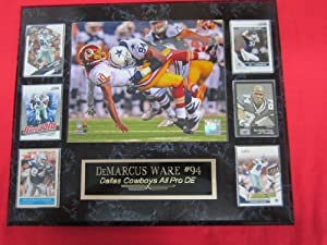 DeMarcus Ware Dallas Cowboys 6 Card Collector Plaque w 8x10 ACTION Photo by J & C Baseball Clubhouse