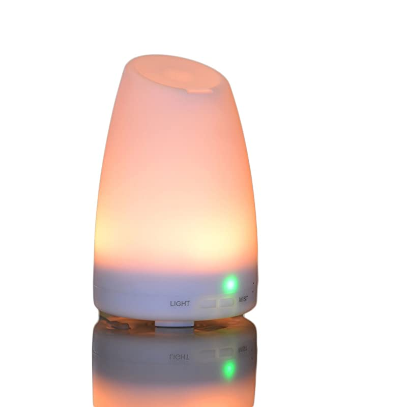 Smiley Daisy Aromatherapy Essential Oil Diffuser, White, 120ml via Amazon
