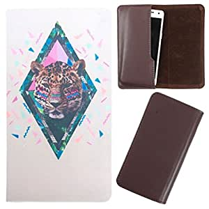 DooDa - For LG Optimus L7 (P705) PU Leather Designer Fashionable Fancy Case Cover Pouch With Smooth Inner Velvet