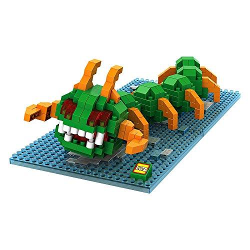 Grand Line Pixel Set LOZ Diamond Blocks Nanoblock Centipede Educational Toy 360pcs