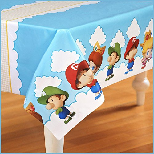 Birthday Express - Super Mario Bros. Babies Plastic Tablecover