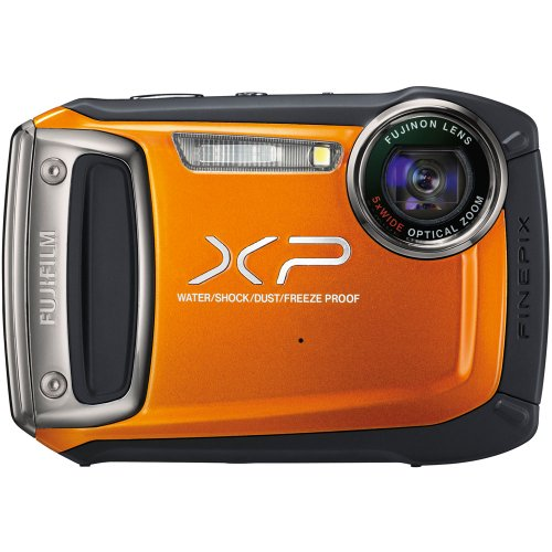 Fujifilm FinePix XP100 Digital Camera (Orange)