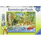 Ravensburger Puzzles Woodland Friends, Multi Color (200 Pieces)