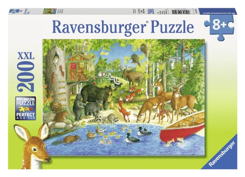 Ravensburger Woodland Friends Puzzle (200-Piece)