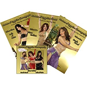 Masters of Egyptian Choreography DVD set, Volumes 1 ~ 3, including Companion Cd