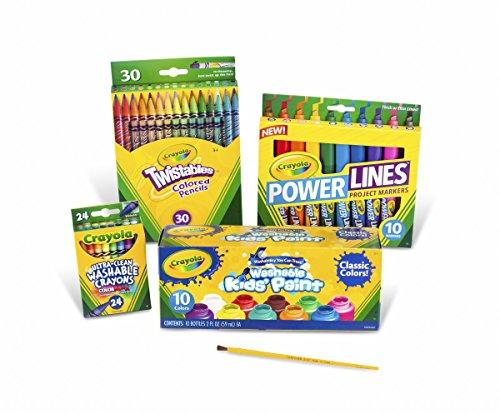 Crayola Marker Crayon and Paint School Pack JungleDealsBlog.com