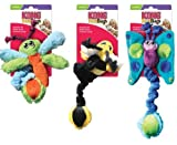 KONG Kitty FUZZ BUGS Catnip Wrestle Toy for Cats and Kittens (CF4)