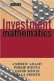 Investment mathematics