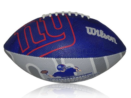 Wilson NFL Junior NY Giants Logo American Football