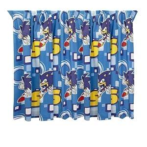 Character World Sonic The Hedgehog Vorhnge 182 Cm