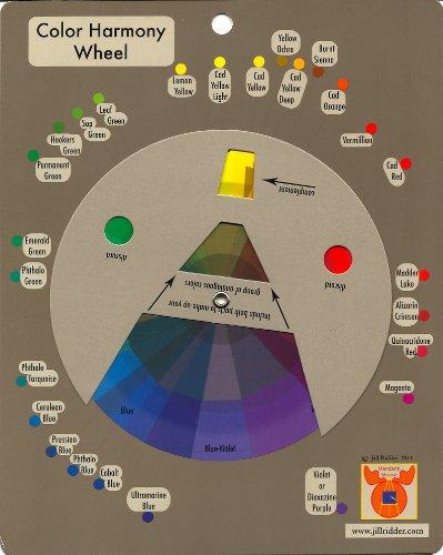 Acrylics Color Harmony Wheel